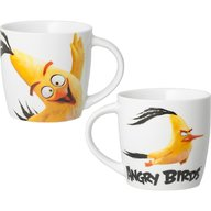 Lulabi - Cana portelan Angry Birds 330ml, Galben