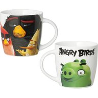Lulabi - Cana portelan Angry Birds 330ml, Multicolor