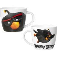Lulabi - Cana portelan Angry Birds 400ml, Negru
