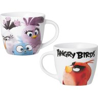 Lulabi - Cana portelan Angry Birds 400ml, Multicolor