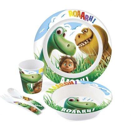 Lulabi Set pentru masa melamina 5 piese Bunul Dinozaur Lulabi 8139900