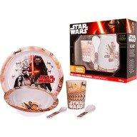Lulabi Set pentru masa melamina 5 piese Star Wars Lulabi 8340300