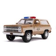 Simba - Macheta Chevy Police K5 1980 , Metalica,  Scara 1:24, Multicolor