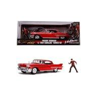 Simba - Macheta Freddy Krueger 1958 Cadillac , Metalica,  Scara 1:24, Model 62, Multicolor