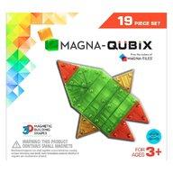 Magna-Tiles - Qubix set magnetic, 19 piese