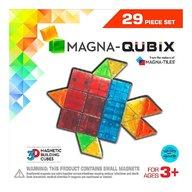 Magna-Tiles - Qubix set magnetic, 29 piese