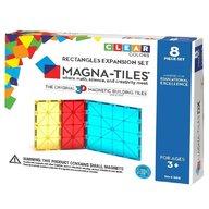 Magna-Tiles - Extensie dreptunghiuri, 8 piese