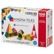 Magna-Tiles Solid Colors set magnetic (100 piese)