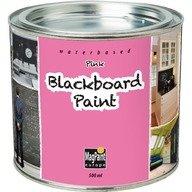 MagPaint Europe Vopsea Blackboard Paint Roz 0.5L Chalk Board MagPaint Europe MGBBPink-05L