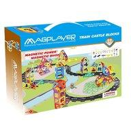 MAGPLAYER Joc de constructie magnetic - 99 piese