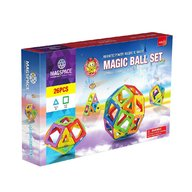 Magspace - 26 Piese Magic Ball set joc magnetic educativ de constructie 3D