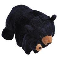 WILD REPUBLIC - Jucarie din plus Urs negru , Mama si puiul