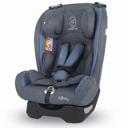 MamaLove Scaun auto grupa 0-36 kg Infinity Albastru