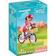Playmobil - Maricela si bicicleta