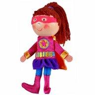 Fiesta Crafts - Marioneta pentru deget Fata Supererou