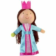 Fiesta Crafts - Marioneta pentru deget Printesa si bobul de mazare