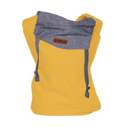 Bykay - Marsupiu reversibil, Autumn Yellow/Dark Jeans