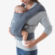 Ergobaby - Marsupiu Embrace, Oxford Blue