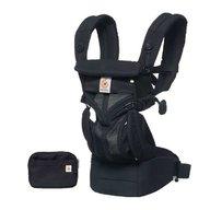 Ergobaby - Marsupiu Omni 360 Cool Air Mesh Onyx Black, pana la 20 kg