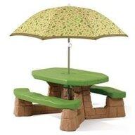 STEP2 - Masa picnic, cu umbrela Varianta Recolor