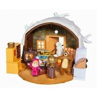 Simba - Set de joaca Casa de iarna a ursului , Masha and The Bear, Multicolor