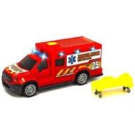 Dickie Toys - Masina ambulanta City Ambulance Unit 25 cu accesorii