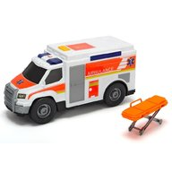 Dickie Toys - Masina ambulanta Medical Responder cu accesorii