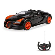 Rastar - Masinuta cu telecomanda Bugatti Grand Sport Vitesse ,  Scara 1:14, Negru