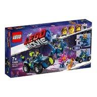Lego - Masina de teren extrema a lui Rex!