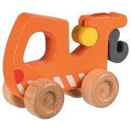 Goki - Vehicul de lemn Masina de tractare Pentru joc de rol