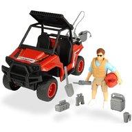 Dickie Toys - Set Masina Playlife Park Ranger cu figurina si accesorii