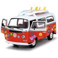 Dickie Toys - Masina Volkswagen Surfer Van cu accesorii