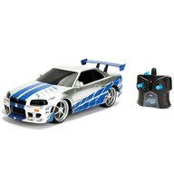 Jada Toys - Masina Fast and Furious Nissan Skyline GTR cu telecomanda