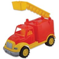 Ucar Toys - Masina pompieri 30 cm cu 36 piese constructie  in cutie