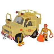 Simba - Masina  Fireman Sam, Sam Mountain 4x4 cu 1 figurina si accesorii