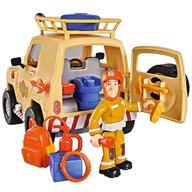 Simba - Masina Fireman Sam Tom's 4x4 cu 1 figurina si accesorii