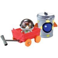 Smoby - Masina 44 Cats cu figurina Cosmo 7,7 cm