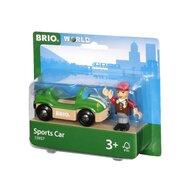 BRIO - Vehicul de lemn Masina sportiva
