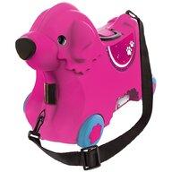 Big - Masinuta de impins tip valiza  Bobby Trolley pink