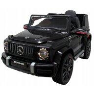 R-Sport - Masinuta electrica Mercedes G63 , Cu telecomanda, Cu roti EVA, Cu scaun piele, Negru