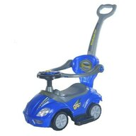 Baby Mix - Vehicul de impins Multifunctional 3 in 1 Ride On, Albastru