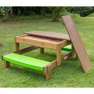 Little Tikes - Masuta de picnic 2 in 1 din lemn