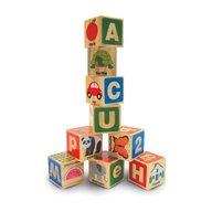 Melissa & Doug - Cuburi din lemn Alfabetul