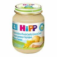 HiPP - Meniu curcan cu porumb si piure de cartofi, 125 gr