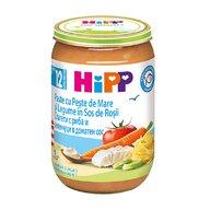 HiPP - Meniu Hipp peste si legume 220 gr