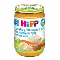 HiPP - Meniu vitel cu legume, 220 gr