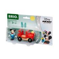 BRIO - Locomotiva , Mickey Mouse , Cu figurina