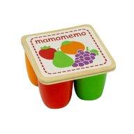 MamaMemo - Mini-iaurturi de jucarie, din lemn,
