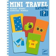 Djeco - Joc de memorie Mini travel