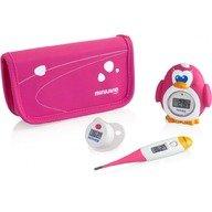 Miniland Set termometre Thermokit Pink